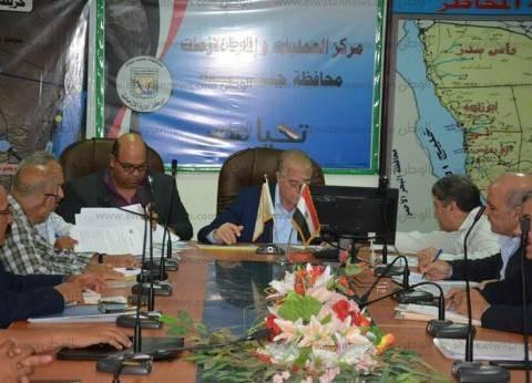 محافظ جنوب سيناء يطالب بالانتهاء من الخطة الاستثمارية خلال أسبوع