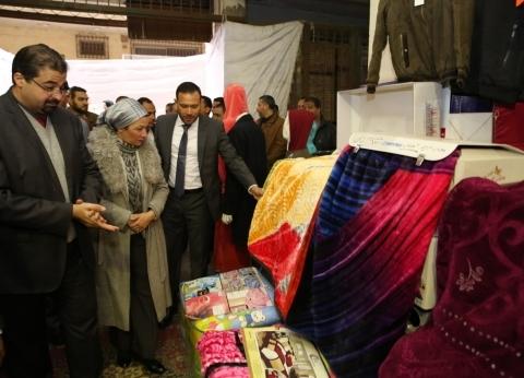وزيرة البيئة تفتتح المعرض السنوي الأول لمستلزمات الأسرة والبيت الحديث