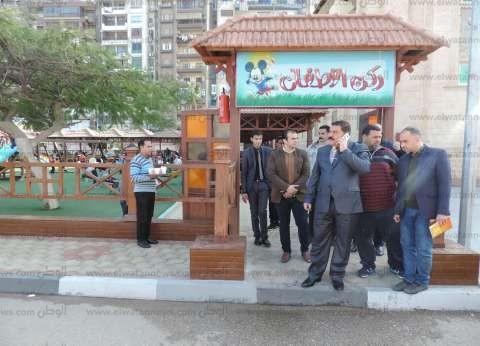 بالصور| مدير أمن الدقهلية يزور نادي تجديف الشرطة في المنصورة