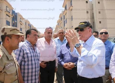 محافظ جنوب سيناء: تسليم الـ500 وحدة سكنية بالرويسات خلال شهر