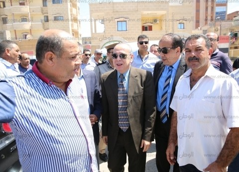محافظ كفر الشيخ يوجه بتطوير ميدان الحامول ومراجعة تغطية البيارات