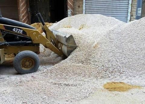 إيقاف أعمال البناء في عدد من العقارات المخالفة بسوهاج