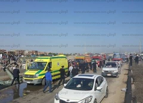 عاجل| مصرع 8 أشخاص في انفجار أتوبيس على الطريق الدولي في الإسكندرية