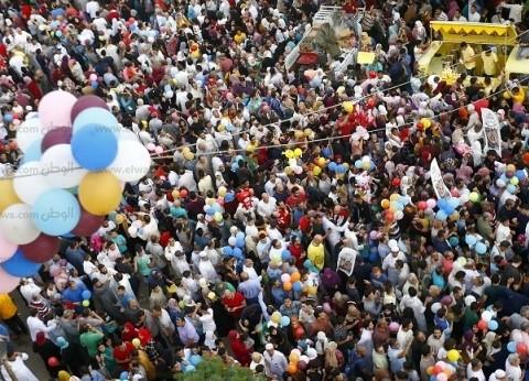 احتفالات شعبية فى حدائق وساحات القاهرة والجيزة