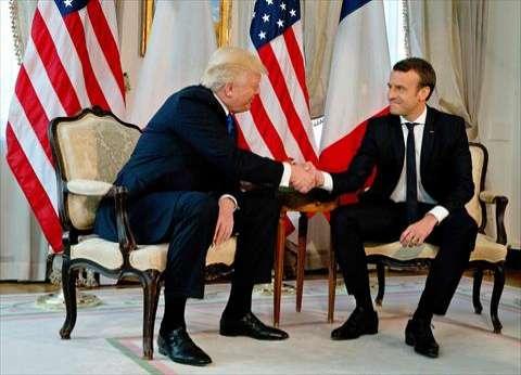 البيت الأبيض: ترامب وماكرون تطرقا إلى تعاونهما في سوريا والعراق