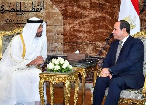 «الاتحادية» يحتضن قمة الأشقاء.. و«السيسى» لـ«بن زايد»: علاقاتنا نموذج للتعاون العربى