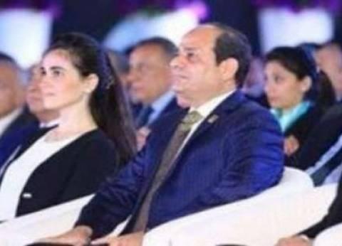 """السيسي للشباب: """"مصر أمانة في رقبتكم إنتم"""""""