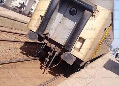 مصرع ربة منزل دهسها قطار أمام مزلقان بالمنيا