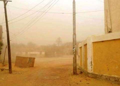 عاصفة رملية شديدة مع انخفاض في درجات الحرارة بجنوب سيناء