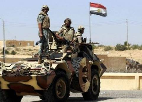 إحباط محاولة إرهابية لاستهداف آليات عسكرية فى الشيخ زويد