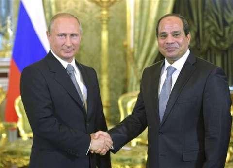 عاجل| السيسي يهنئ بوتين لفوزه في الانتخابات الرئاسية الروسية