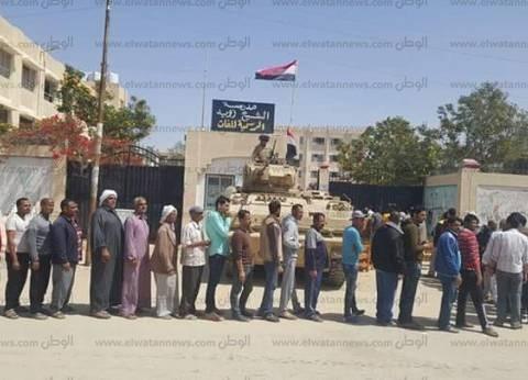 بئر العبد أكبر لجنة بشمال سيناء صوتت للسيسي في الانتخابات الرئاسية