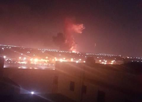 عاجل| وزير الطيران: الانفجار وقع في خزانين للوقود خارج مطار القاهرة