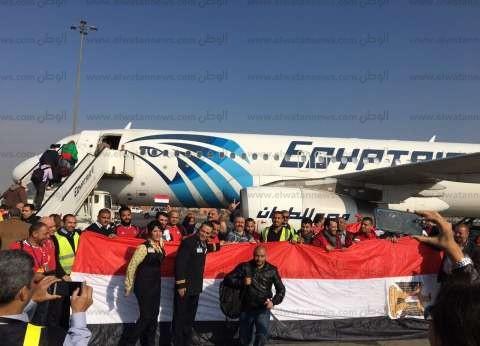 مطار القاهرة ينقل حاجة فلسطينية لمعبر رفح بعد إصابتها بحالة إعياء