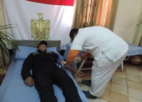 """""""أمن القاهرة"""" توجه للتبرع بالدم إلى الإدارة العامة لشرطة المرور"""