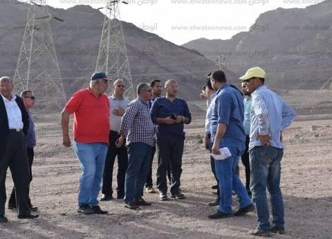 لجنة صندوق تطوير العشوائيات تتفقد أعمال الحماية من مخاطر السيول بنويبع