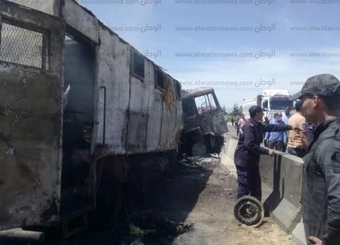 إصابة 3 أفراد شرطة إثر حادث تصادم في الشرقية