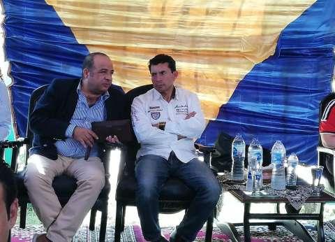 أشرف صبحي يتفقد مركز شباب الجمالية في جولته الشاملة اليوم