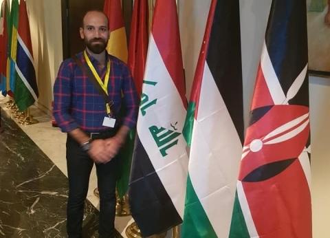 """""""خربوها وسنبنيها"""".. عراقي يحكي تجربة الموصل مع الإرهاب بـ""""شباب العالم"""""""