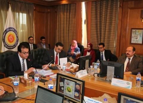 """""""الأعلى للجامعات"""": تشكيل لجان لدراسة فصل فرع مطروح عن جامعة الإسكندرية"""