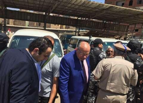 مدير أمن القليوبية يقود حملة مكبرة على المواقف ومستودعات البوتاجاز