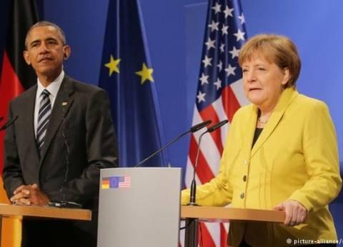 أوباما وميركل قلقان إزاء الأزمة الإنسانية المأساوية في سوريا