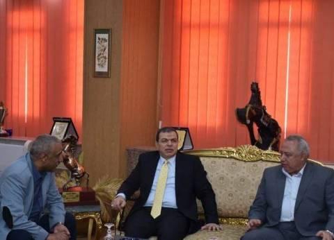 """محافظ الشرقية يستقبل """"سعفان"""" للمشاركة في مبادرة """"مصر بكم أجمل"""""""