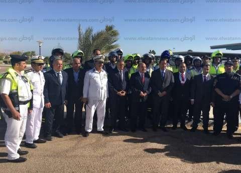 بالصور| قيادات الداخلية تتفقد إجراءات تأمين منتدى شرم الشيخ