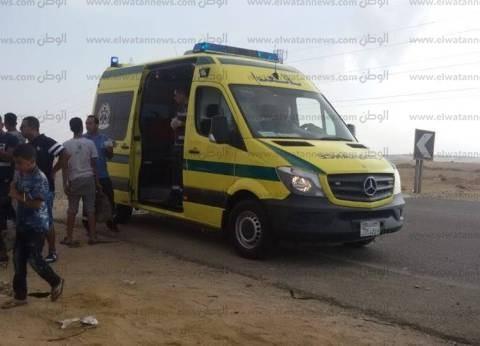 """مصرع سيدة وإصابة 18 في انقلاب ميكروباص بـ""""صحراوي المنيا"""""""
