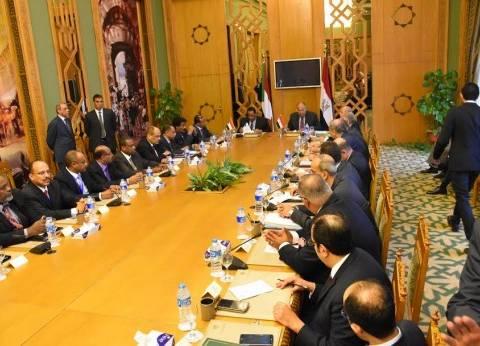 شكري يعقد اجتماعا مع نظيره السوداني قبل أعمال اللجنة العليا المشتركة