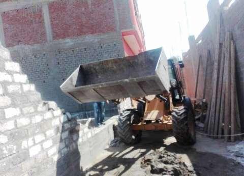 محافظة سوهاج: إزالات فورية لـ 65 حالة تعدي وبناء مخالف بالبلينا
