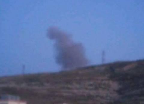 بالصور| لحظة قصف المقاتلات المصرية لمعسكرات الإرهاب في ليبيا