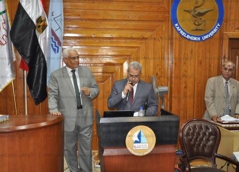 نائب رئيس جامعة كفر الشيخ: هدفنا التعليم من أجل التوظيف