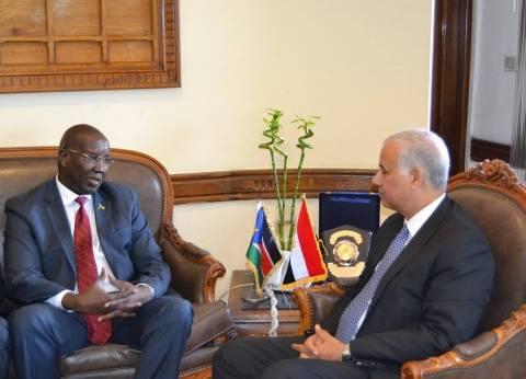 نائب رئيس جامعة الإسكندرية يبحث افتتاح فرع جديد بجنوب السودان
