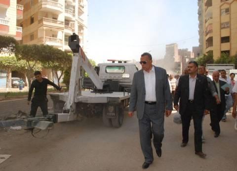 """محافظ الجيزة يوجه بحملات توعية لمكافحة """"سوس"""" النخيل بالواحات"""