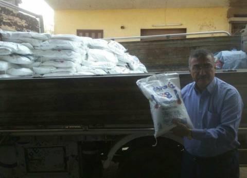 الجمعيات الزراعية في كفر الشيخ توزع 54 ألف طن أسمدة على المزارعين