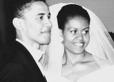 ميشيل أوباما تحتفل بعيد زواجها الـ25: «كنت ولا تزال رجلي المميز»