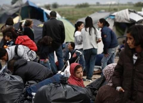 تظاهرة عنيفة ضد اللاجئين في جزيرة يونانية