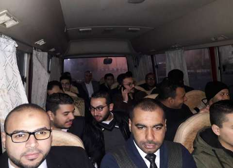 "56 مهندسا من بورسعيد يجرون اختبارات وظائف ""حقل ظهر"""