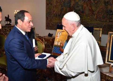 """باحث لـ""""الوطن"""": """"السلام خيار الأقوياء"""" عنوان زيارة بابا الفاتيكان"""