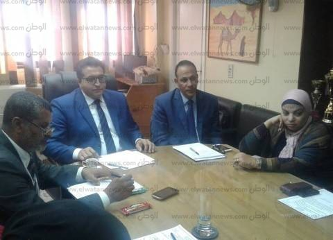 """أمناء تعليم جنوب سيناء يناقش إقامة """"مطبات صناعية"""" أمام المدارس"""