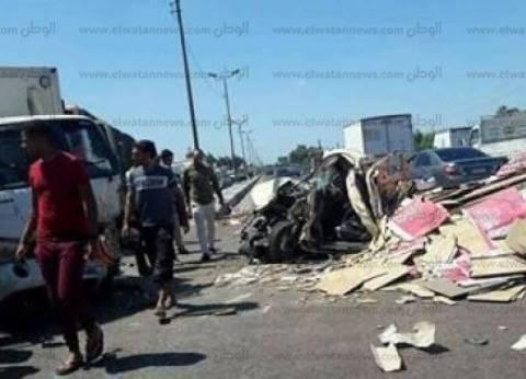 إصابة 3 مدنيين إثر حادث تصادم بطريق بئر العبد في شمال سيناء
