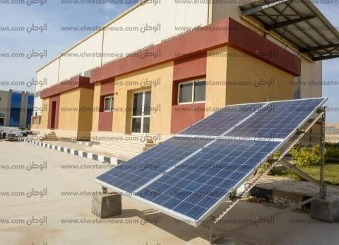 أول محطة شمسية بـ«القومية للكهرباء»: 2700 لوح بـ 600 كيلووات
