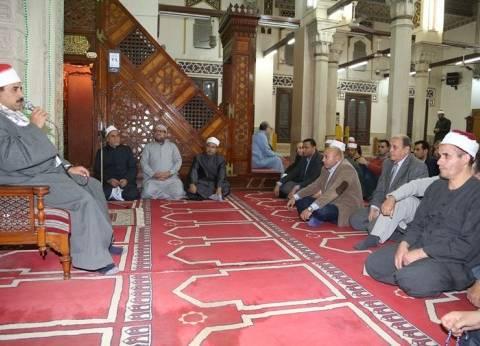 محافظ المنوفية يشهد الاحتفال بالمولد النبوي في مسجد الأنصاري