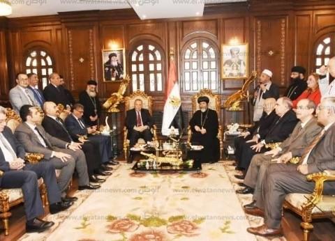 غراب: افتتاح مسجد وكنيسة العاصمة يؤكد أن مصر حاملة لواء التسامح