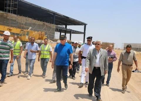 فودة يتفقد أعمال بناء وتطوير قاعة مؤتمرات دوليه جديدة بشرم الشيخ
