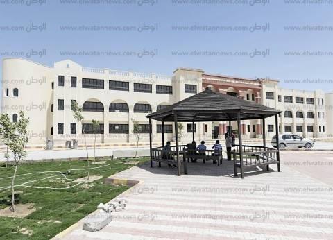 طرح أعمال تنفيذ طرق بمدينة المنيا الجديدة