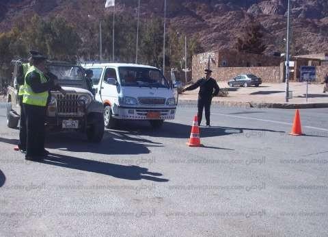 الأمن العام يشن حملة أمنية موسعة لتطهير البؤر الإجرامية بالقليوبية