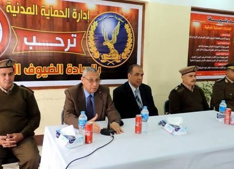 مدير أمن المنيا يشهد ختام الدورة التثقيفية لتنمية مهارات أفراد الشرطة