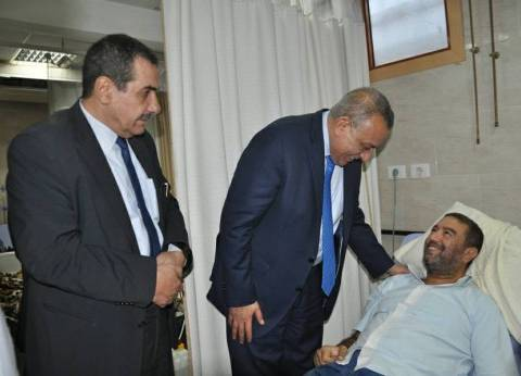 محافظ الجيزة يزور مستشفى بولاق الدكرور لتفقد الخدمات الطبية